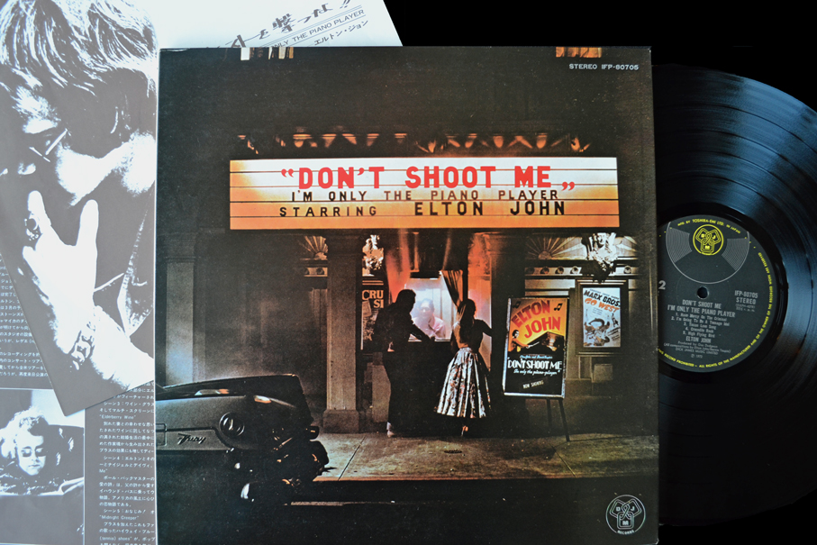 Elton John Don T Shoot Me I M Only The Piano Player Vinyl Original Japanese