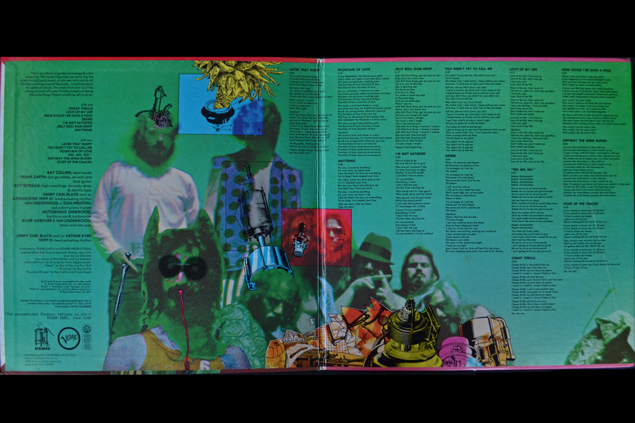 Frank Zappa The Mothers Of Invention Cruising With