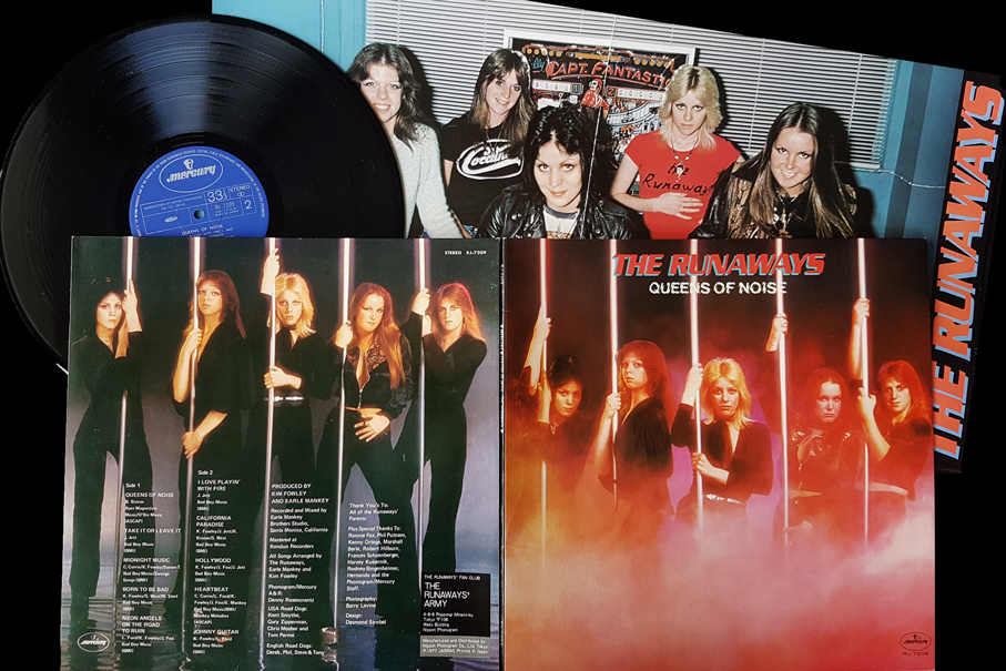 The Runaways Queens Of Noise Vinyl Original Japanese Pressing Rockstuff